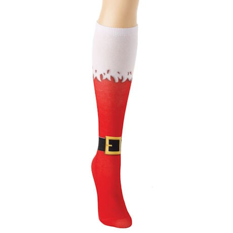 Happy Holidays Knee-Highs