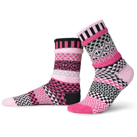 Mis-Matched Chunky Crew Socks