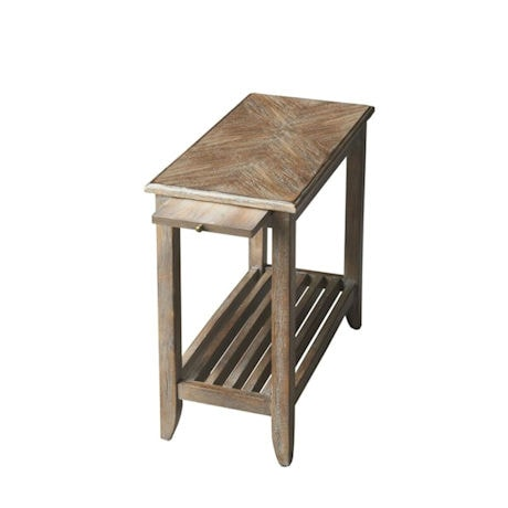 Dusty Trail Slatted Side Table