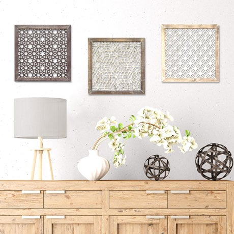 Laser-Cut Wall Décor