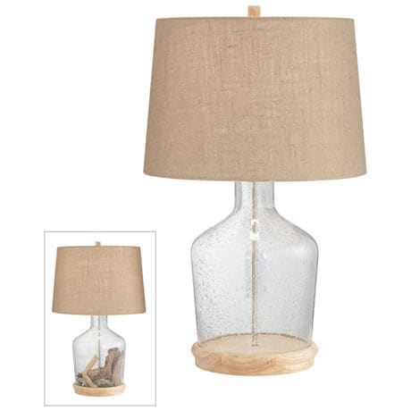 Speckled Beach Glass Table Lamp