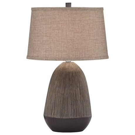 Charcoal Ceramic Table Lamp