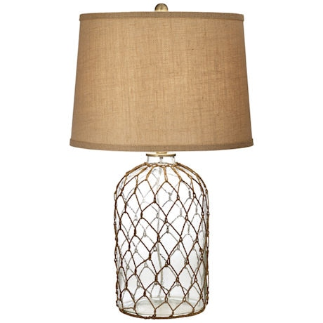Coastal Netting Table Lamp