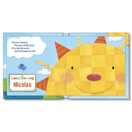 Personalized Hello, World! Board Book - Boy