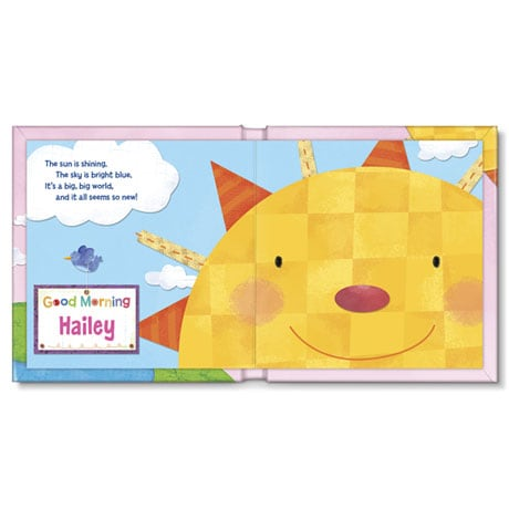 Personalized Hello, World! Board Book - Girl