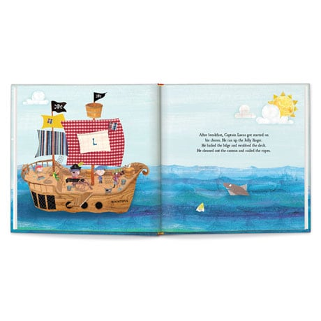 Personalized My Pirate Adventure Children's Book
