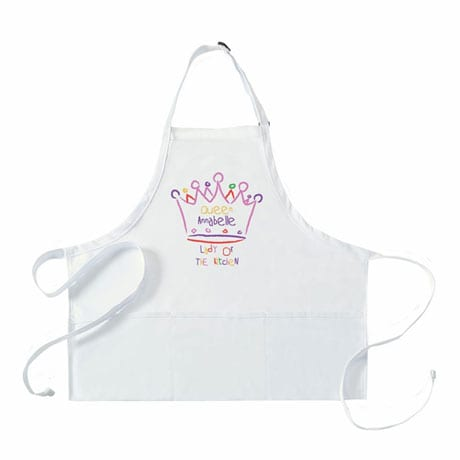 Personalized Adult's 'Queen' Apron