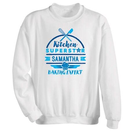 """Personalized """"Kitchen Superstar"""" Shirt"""