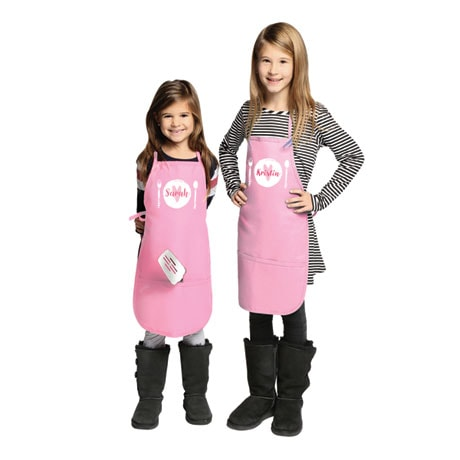 Personalized Children's Place Setting Apron