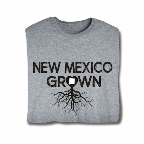 """Homegrown"" T-Shirt - Choose Your State - New Mexico"