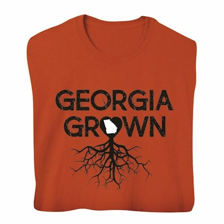 """Homegrown"" T-Shirt - Choose Your State - Georgia"