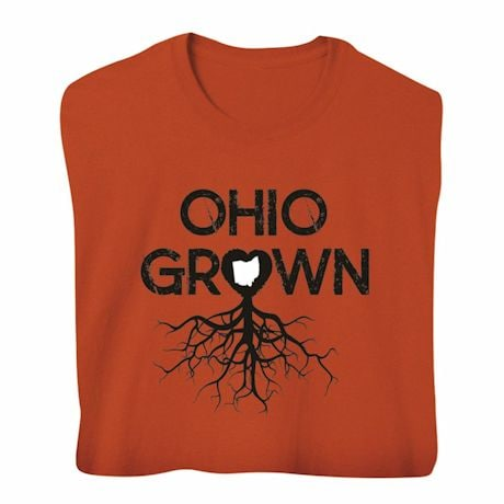 """""""Homegrown"""" T-Shirt - Choose From Any State - Ohio"""