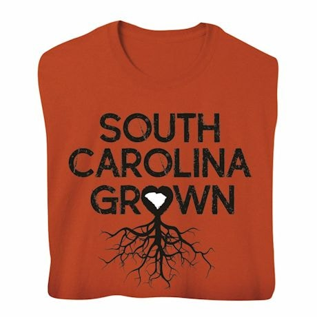 """Homegrown"" T-Shirt - Choose Your State - South Carolina"