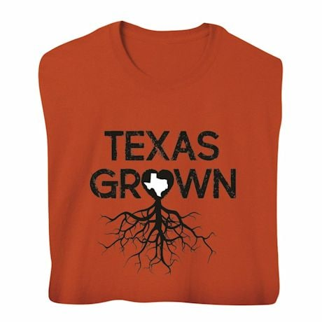 """Homegrown"" T-Shirt - Choose From Any State - Texas"