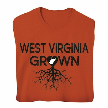 """""""Homegrown"""" T-Shirt - Choose Your State - West Virginia"""
