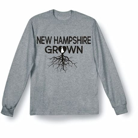 """Homegrown"" T-Shirt - Choose Your State - New Hampshire"