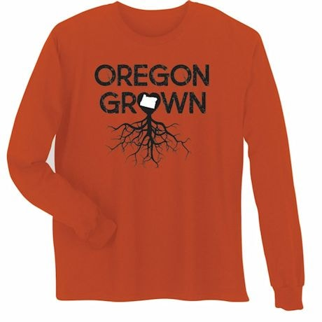 """""""Homegrown"""" T-Shirt - Choose From Any State - Oregon"""