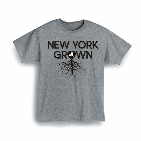 """Homegrown"" T-Shirt - Choose From Any State - New York"