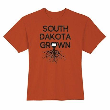 """Homegrown"" T-Shirt - Choose Your State - South Dakota"