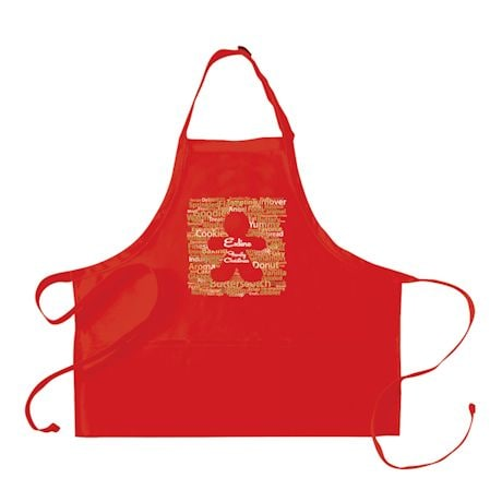 Personalized Gingerbread Adult's Apron