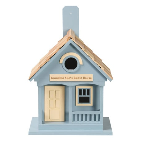 Personalized Cottage Birdhouse