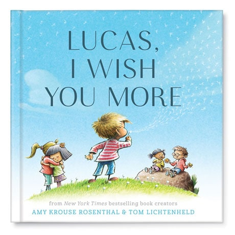 Personalized 'I Wish You More' Book