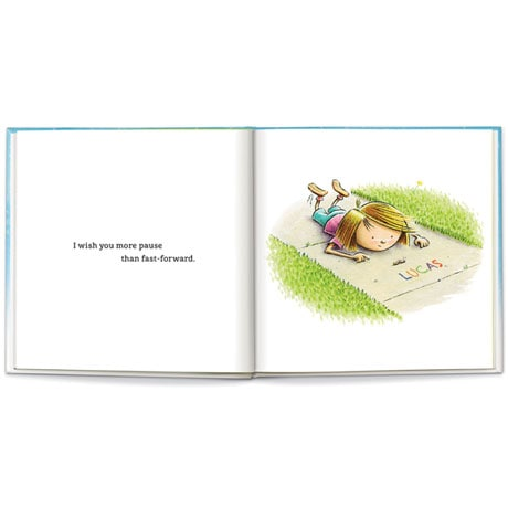 """Personalized """"I Wish You More"""" Book"""