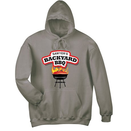 """Personalized """"Your Name"""" Backyard BBQ Tee"""
