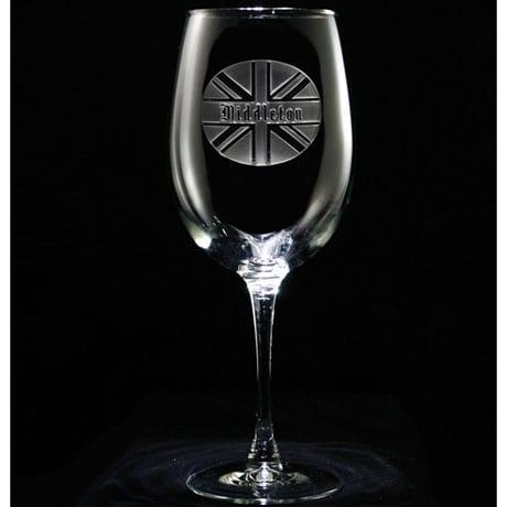 Personalized British Pride Wine Glass