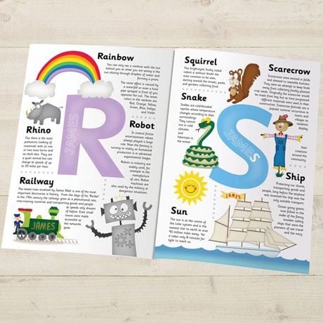 Personalized Children's Encyclopedia Book