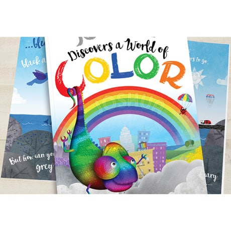 Personalized World of Color Children's Book