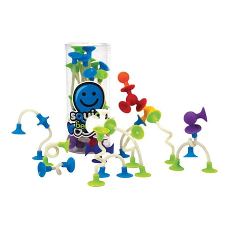 Fat Brain Toys Squigz Benders Building Kit