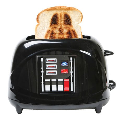 Star Wars Empire Collection Darth Vader Chest Plate Character Toaster