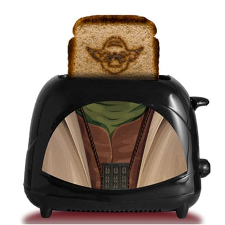 Star Wars Empire Collection Yoda Robes Character Toaster