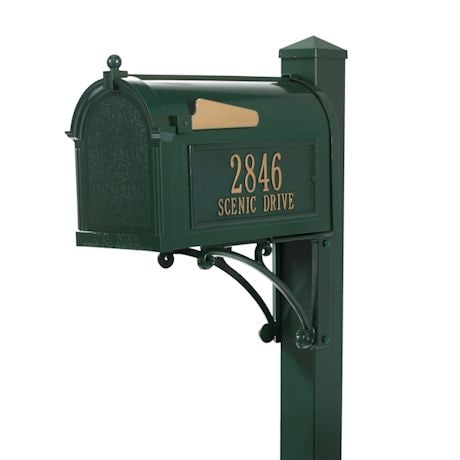 Whitehall Superior Mailbox and Post Package