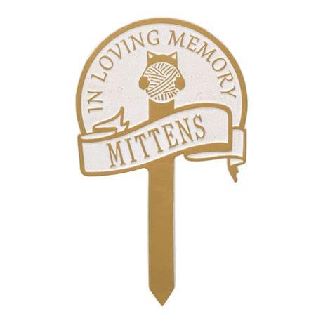 Personalized Cat Memorial Yard Plaque