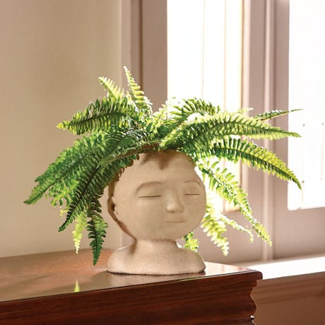 Head of a Man Indoor/Outdoor Planter