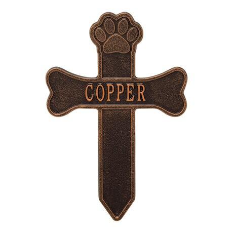 Personalized Dog Memorial Cross