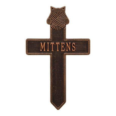 Personalized Cat Memorial Cross