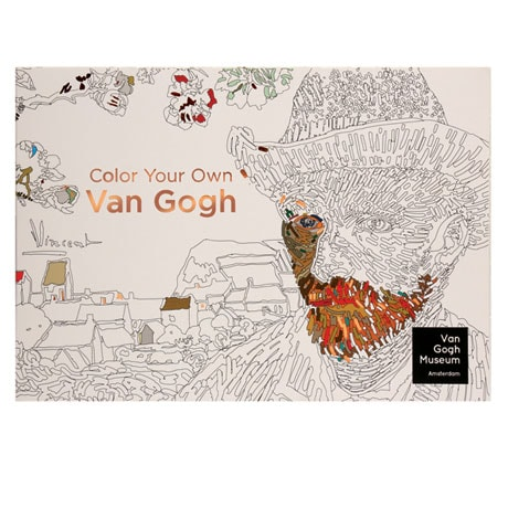 Color Your Own Van Gogh Coloring Book