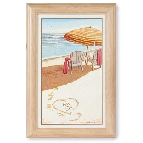 Personalized Sea Breeze Framed Canvas