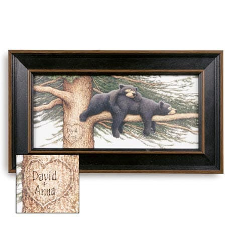 Personalized Cozy Bear Print