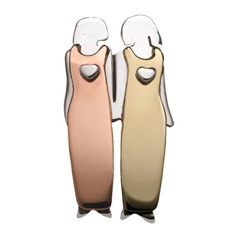 Two Women Pin