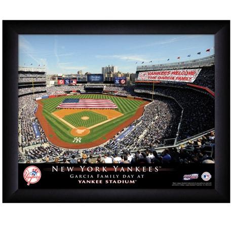 Personalized Baseball Stadium Prints