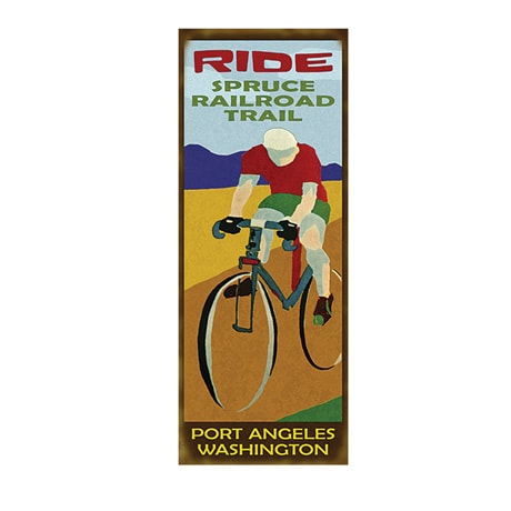 Personalized Bicycle Trail Sign