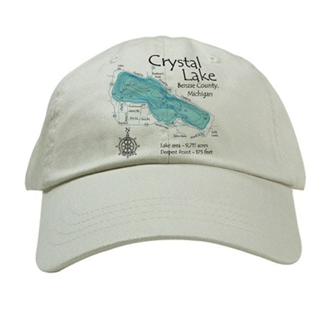 Personalized Lake Art Baseball Hat