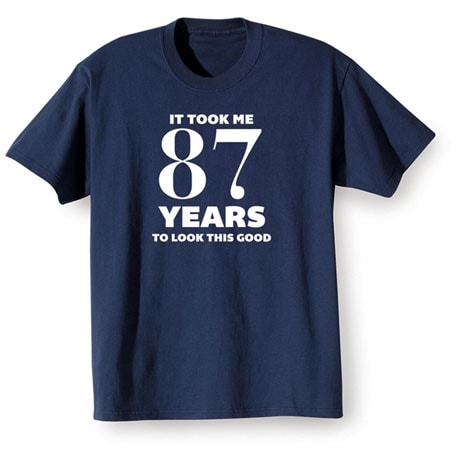 Personalized This Many Years Shirts