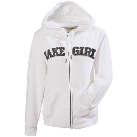 Lake Girl Hooded Sweatshirt for Women with Zip Front