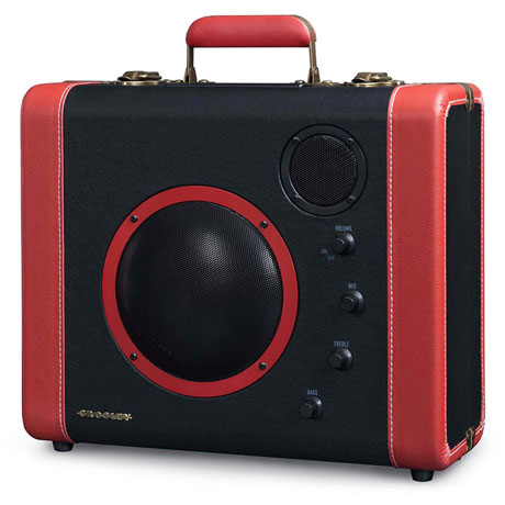 Crosley Soundbomb Portable Suitcase Speaker