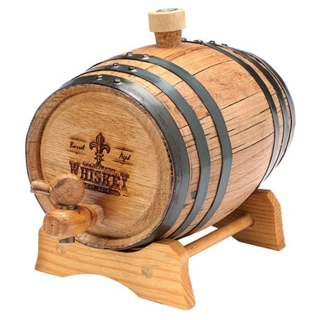 Bootleg Kit with Seasoned Oak Barrel Cask in 1, 2, or 5 Liter